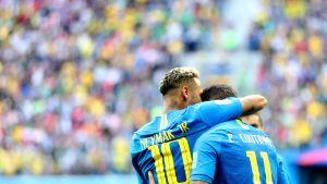 Neymar ja Philippe Coutinho
