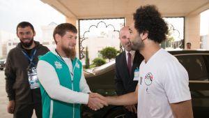 Ramzan Kadyrov ja Mohamed Salah