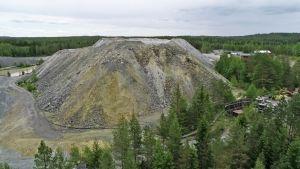 Ilmakuva kaivosalueesta
