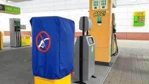 Polttoainemittari oli pois käytöstä myös Kajaanin Prisman ABC-asemalla 26.6. aamulla.
