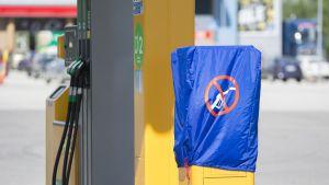 Sotkamon ABC: käytöstä poistettu bensamittari