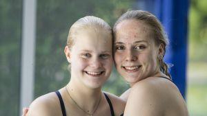 Anni Paloheimo ja Lauren Hallaselkä kuvassa