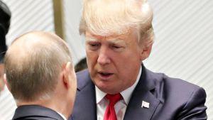 Vladimir Putin ja Donald Trump.