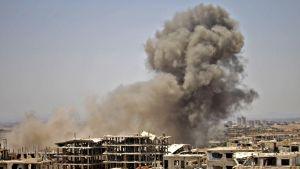 Savu nousee Daraan alueella.