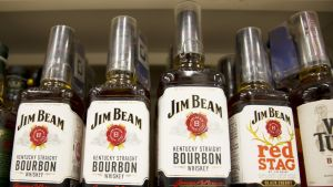 Bourbon-viskiä