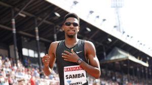 Abderrahman Samba kuvassa