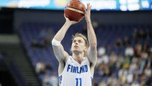 Petteri Koponen Islanti-ottelussa