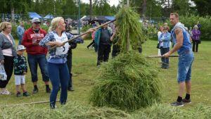 Tuusniemen Kutujuhlilla järjestettiin vuonna 2017 Romantiikkarata.