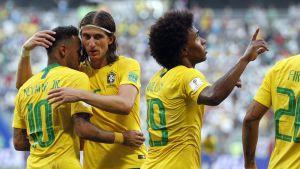 Brasilian hurja hyökkäys