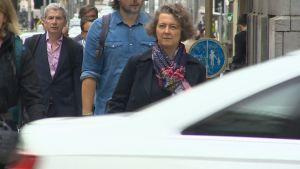 Karin De Schepper haastoi Brysselin kaupungin oikeuteen ilmanlaadun takia.