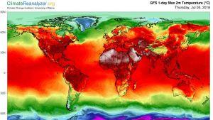 Ympäri maailmaa on mitattu poikkeuksellisia lämpötiloja.