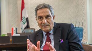 Irakin suurlähettiläs Suomessa, Matheel al-Sabti.
