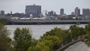 Näkymä Montrealin kaupunkiin