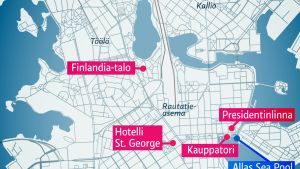 Helsingin kartta