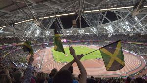 Jamaikan lippu yleisurheilu