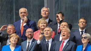 Natokokouksen perhepotretti.