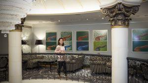 Krista Syväkari, liiketoimintajohtaja, Kämp Collection Hotels.