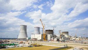 Valko-Venäjän ydinvoimala Astravets