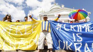 Helsinki Calling -mielenosoitus