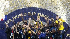 Ranskan joukkue, MM 2018