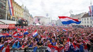 Zagrebissa juhlittiin MM-hopeaa kuin kultaa.