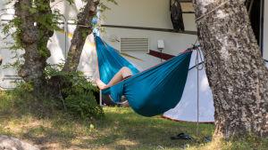 Huhtiniemi camping leirintä