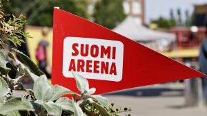 Suomi Areena -viiri.