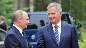 Putin ja Niinistö.