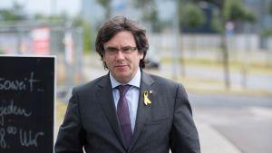 Entinen Katalonian johtaja Carles Puigdemont on Saksassa.