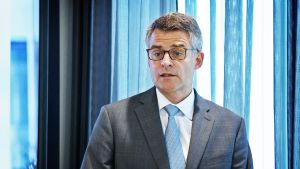 Koneen toimitusjohtaja Henrik Ehrnrooth.