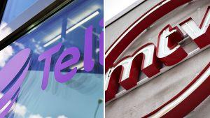 Telian ja MTV:n logot