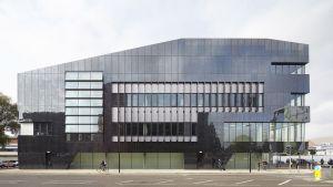 Manchesterin yliopiston rakennus.