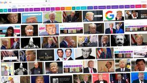 Google-kuvahaun näkymä.