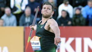 Andreas Hofmann Paavo Nurmen kisoissa 2018.