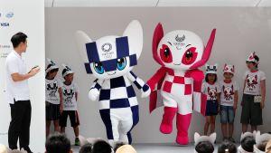 Tokion olympialaisten kisamaskotit
