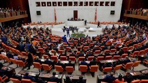 Turkin parlamentti, sisäkuva
