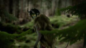 hiisi metsässä jonka silmät kiiluvat GIF Hiidenportti jättiläinen hahmo taruolento