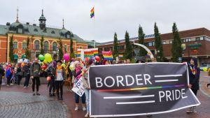 BorderPrider Torniossa ja Haaparannalla vuonna 2017.