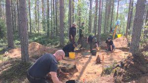 Enonkosken Kotkuinniemen arkeologiset kaivaukset