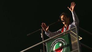 Pakistanin uusi pääministeri Imran Khan.