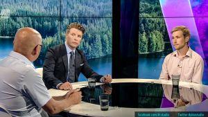 Pekka Suomela ja Otto Bruun
