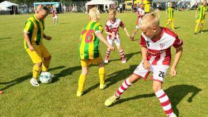 TUS:n ja GBK:n 08-pojat Kokkola Cupissa 2018.