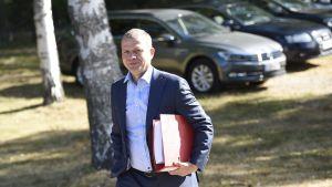 Valtiovarainministeriön sisäiset budjettineuvottelut alkoivat valtiovarainministeri Petteri Orpon johdolla.