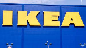 Ikean myymälä.