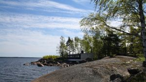 Rankin saari Kotkan edustalla.