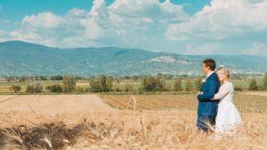 Linda ja Lauri Tuohima Toscanassa