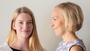 Laura Kyllönen ja Suvi Haimi