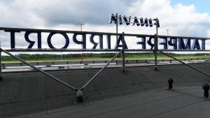 Finavia Tampere airport Pirkkalan lentoaseman katolla