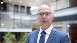 HUS:in toimitusjohtaja Juha Tuominen.