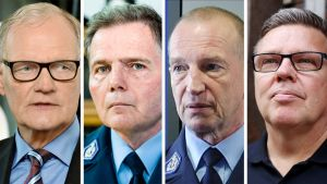 Mikko Paatero, Lasse Aapio, Jukka Riikonen ja Jari Aarnio.